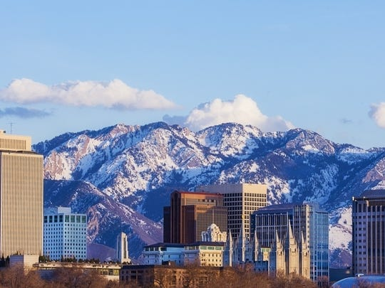 Utah: Monetary authorities     • Industry GDP contribution:  $5.8 billion (4.2% of total)     • Industry workforce:  35,942 (2.6% of total)     • 5 yr. Industry GDP change:  +1.4%     • Avg. industry salary:  $63,586     Utah is one of only a handful of states where companies are legally allowed to set up industrial banks. These banks exist to make loans to businesses with fewer restrictions than commercial banks, and such institutions can be owned and operated by non-financial companies. Now home to 15 active industrial banks, including one in Salt Lake City owned by BMW, the state has become an industrial banking hub in the last two decades. Utah's position as a national leader in industrial banking was solidified after congress prohibited industrial banks in states in which they did not already exist.     Partially as a result, banking is the largest industry in Utah after real estate, generating $5.8 billion in 2017, 4.2% of the state's total economic output.     ALSO READ: Hardest Colleges to Get Into in Every State