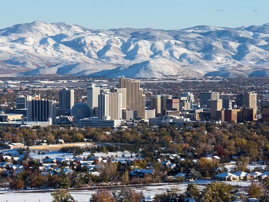Nevada: Reno• Cost of living in Reno: 1.3 percent less expensive than avg.• Cost of living in Nevada: 2.6 percent less expensive than avg.• Poverty rate: 12.2 percent• Median household income: $58,056