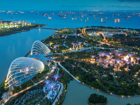 Singapore was founded as a trading colony by the British in 1819 on the site of a 14th-century Malay port, and has been an independent city-state since 1965.