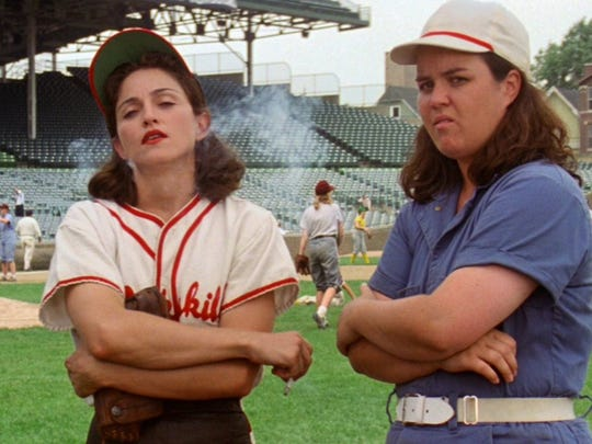 Among Penny Marshall's directing credits was 'A League of Their Own,' starring Rosie O'Donnell and Madonna.