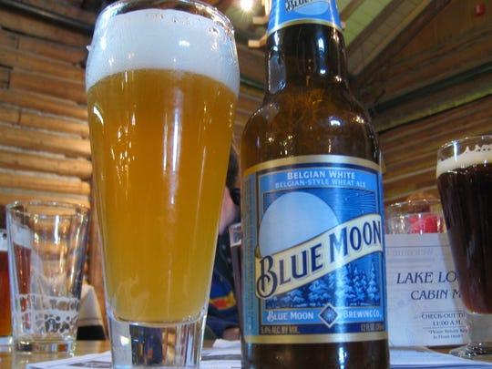 19. Blue Moon Belgian White
