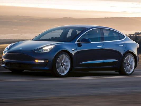 Tesla Model 3 Car Jpg