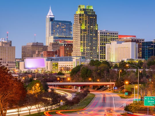 Raleigh, North Carolina.