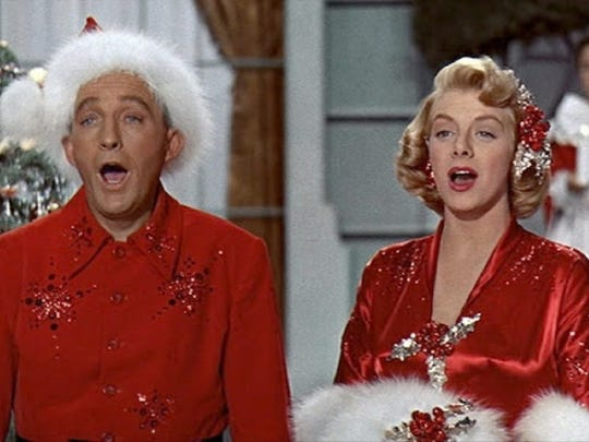 """""""White Christmas"""" is a sentimental holiday perennial starring Bing Crosby and Danny Kaye. Crosby and Kaye are song-and-dance performers who, on a trip to Vermont, meet their beloved former Army general who runs a lodge that is struggling financially."""