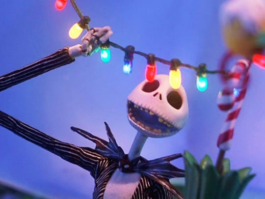 """8. The Nightmare Before Christmas (1993)   • Directed by:  Henry Selick   • Starring:  Danny Elfman, Chris Sarandon, Catherine O'Hara   • Genre:  Animation, family, fantasy   This animated film has the gothic fingerprints of the uber-creative Tim Burton (who co-wrote the movie) and is celebrating its 25th anniversary. The movie is about Jack Skellington, skeletal king of Halloween Town, who discovers Christmas Town, and is enchanted by the idea of Christmas. But his attempt to import Christmas to Halloween Town encounters obstacles. """"The Nightmare Before Christmas"""" has a 95% freshness rating on Rotten Tomatoes, and 91% of the voting audience liked it."""