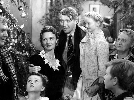 "The holiday season favorite ""It's a Wonderful Life"" will be shown Tuesday night at The REX Theatre in downtown Pensacola."
