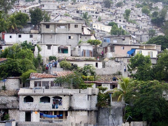 A view of Port-au-Prince, capital of Haiti. The Caribbean nation is the poorest in the Western Hemisphere, continually rocked by political strife and natural disaster. But its survival as the only Western nation to emerge from a successful slave rebellion is remarkable.