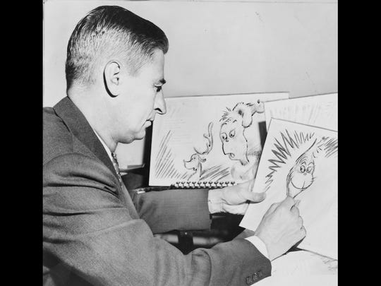Children's books was one of the few genres Geisel could work in that was not forbidden by his ad contracts.