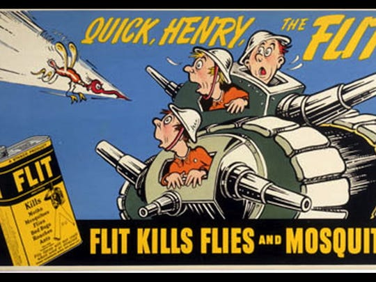 """He created the Flit slogan """"Quick, Henry, the Flit!"""" It became a popular catchphrase of the time."""