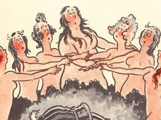 """Geisel's 1939 book for adults, """"The Seven Lady Godivas,"""" was full of cartoon nudes. It didn't sell well."""