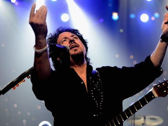 Steve Lukather, guitarist of award-winning group Toto. Toto returns Oct. 8, 2019 to the Ryman Auditorium.