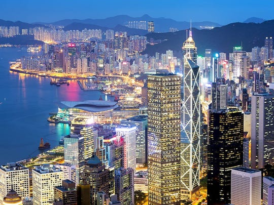 Hong Kong has the highest percentage of individuals with liquid assets surpassing $30 million than any other city, per a January 2018 report from Wealth-X.