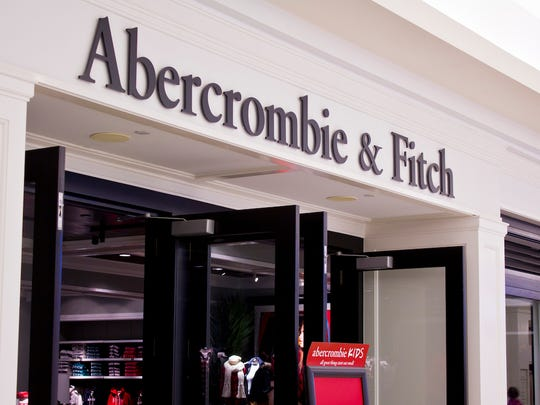 A file photo of a Abercrombie and Fitch mall location. Getty Images.