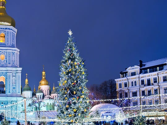 Christmas Fair at St. Sophia Cathedral, Kiev