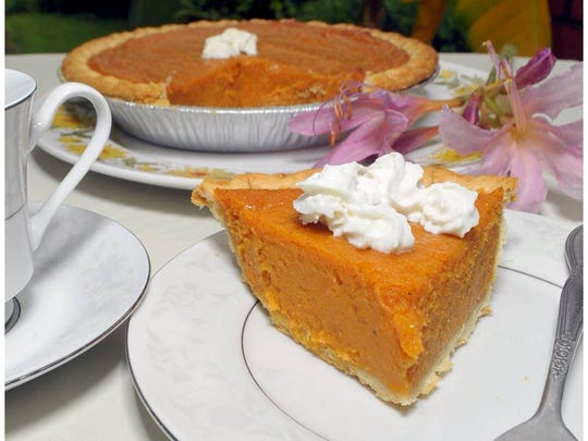 Georgia's Sweet Potato Pie Company is offering 20 percent off all pies at Logan's Street Market Wednesday, Jan. 22, for National Pie Day.