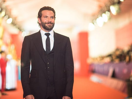 "4. Bradley Cooper     • Nomination:  Best Performance By An Actor In A Motion Picture - Drama     • Movie or show:  ""A Star Is Born""     • Acting credits:  65     • Wikipedia page views (2 yr.):  9,814,537"