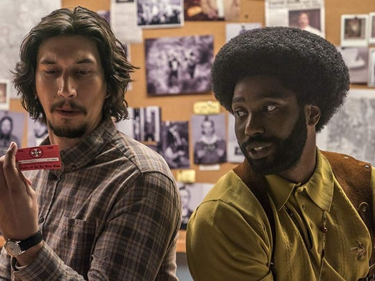 """Pensacola Cinema Arts is sponsoring a viewing of Spike Lee's """"BlacKkKlansman,"""" starring Adam Driver and John David Washington, on Friday and Saturday at the J. Earle Bowden Building."""