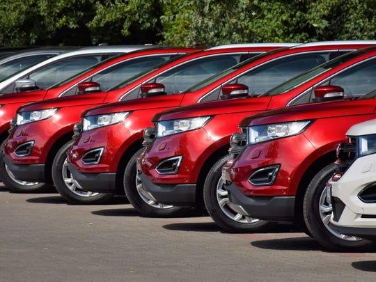 New car sales.