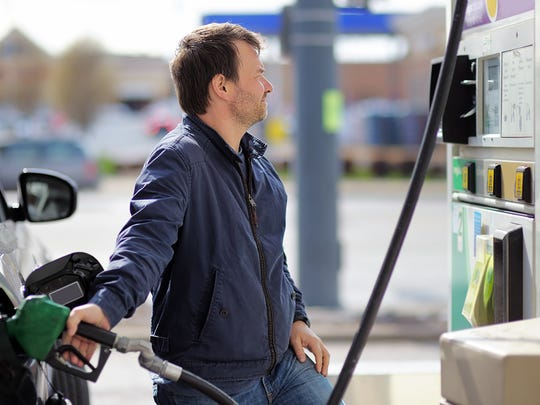 Gas prices plunged 7.5 percent in December, the most in almost three years.