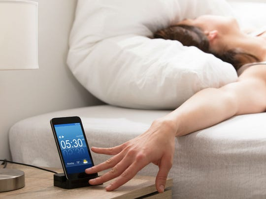 Screens in or near your bed are likely to disrupt your sleep and perhaps your dreams.