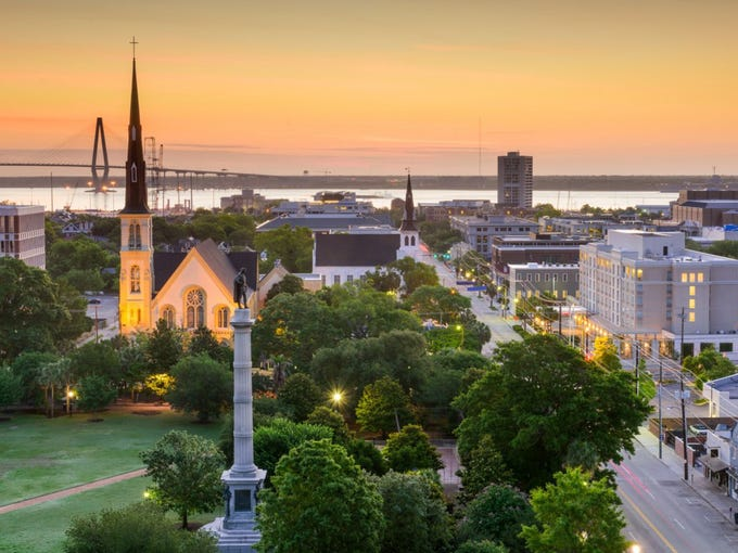 """Looking for an upbeat vacation?<a href=""""https://wallethub.com/edu/happiest-places-to-live/32619/"""">WalletHub</a> has the cities for you with its happiest cities in America ranking. The organization based its research on factors like depression rate, income-growth rate and average lesiure time per day. No. 20 is Charleston, South Carolina. Explore the gallery to find out the rest of the top 20."""