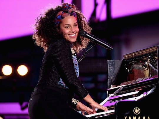 Grammy Awards host Alicia Keys.