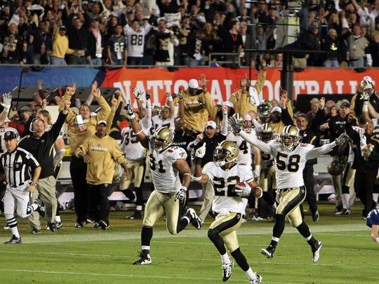 9. Super Bowl XLIV (2010). Average ticket price: $2,584.4