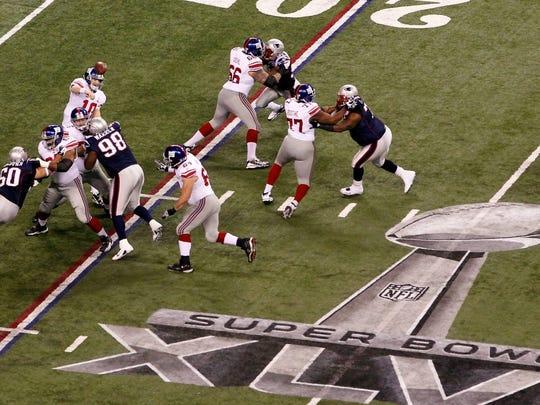 5. Super Bowl XLVI (2012). Average ticket price: $3,664.12