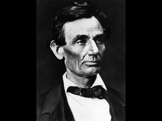 "Abraham Lincoln was the humble servant who said ""a house divided against itself cannot stand."""