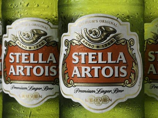 14. Stella Artois Parent company:  Anheuser-Busch InBev