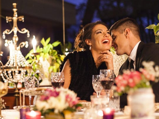 According to the NRF, the average cost of a couple's night out on Valentine's Day is $55.44 in the United States.