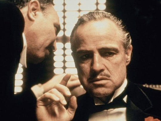 """The Godfather,"" starring Marlon Brando as Don Corleone"