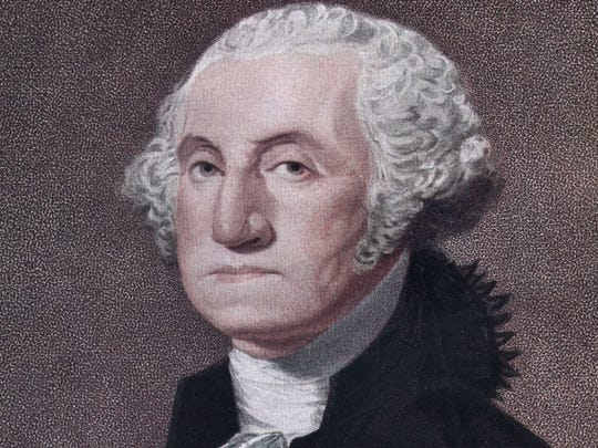 "George Washington     • Term:  1789-1797 (1st president)     • Peak net worth (in current dollars):  $587.0 million     His Virginia plantation, ""Mount Vernon,"" consisted of five separate farms on 8,000 acres of prime farmland, run by over 300 slaves. His wife, Martha Washington, inherited a substantial amount of property from her first husband. Washington made significantly more than subsequent presidents: his salary was two percent of the total U.S. budget in 1789."