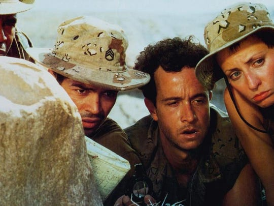 "Pauly Shore in the 1994 film, ""In The Army Now"""