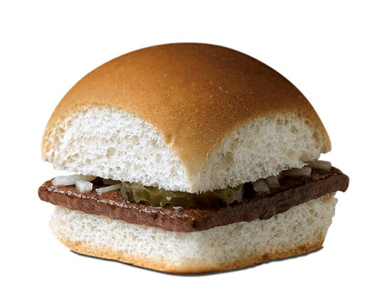 The Original Slider from White Castle.