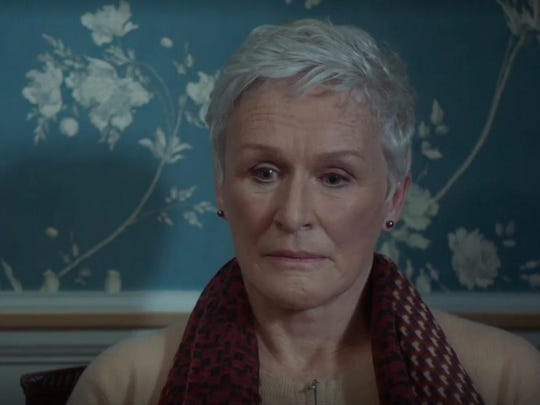 "Glenn Close in ""The Wife."""