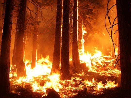 California: 6.7 million acres     Between 2008 and 2017, 6.7 million acres of land in California burned in unplanned wildfires, the second most in the contiguous United States. While statistics have not been released yet, 2018 appears to have been one of the worst wildfire seasons in state history.