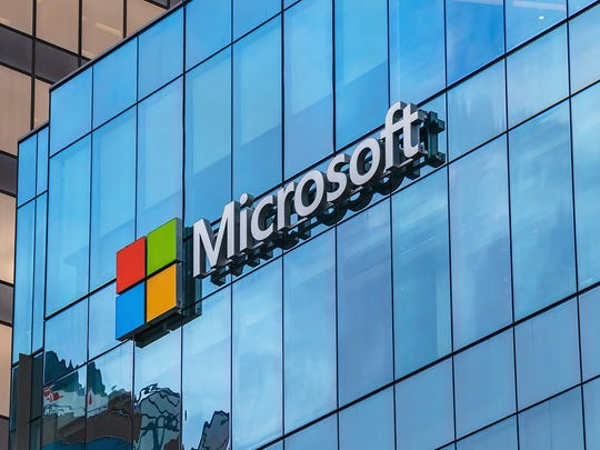 "Microsoft plans to build a ""five-building technology center"" south of Interstate 10 in Goodyear, Arizona."
