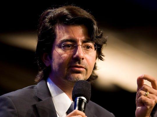Pierre Omidyar (Photo: Brian Harkin / Getty Images)