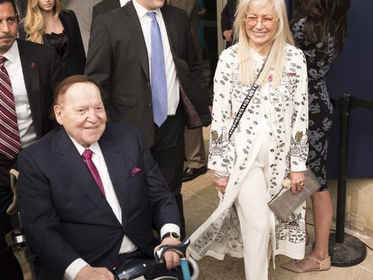 Nevada: Sheldon Adelson     • Est. net worth:  $36.4 billion     • Resides:  Las Vegas     With an estimated net worth of $36.4 billion, Sheldon Adelson is the wealthiest person in Nevada and one of the 20 wealthiest people in America. Adelson is the founder, chairman, and CEO of Las Vegas Sands, one of the largest casino and resort companies in the world. Adelson is a major political donor, contributing more than $123 million to conservative politicians in the 2018 election cycle, more than any other U.S. citizen.     ALSO READ: Before and After Pictures of the Worst Hurricanes in American History
