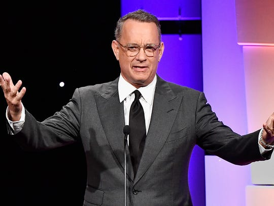 """From Forrest Gump to Colonel Tom? Tom Hanks may play """"Colonel"""" Tom Parker in a planned Elvis biopic."""