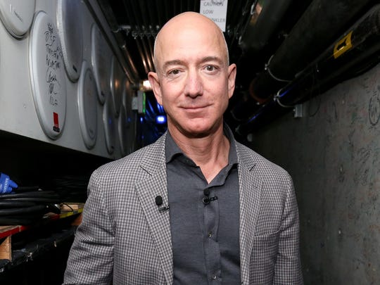 Westlake Legal Group gettyimages-1052207354 Amazon CEO Jeff Bezos drops to world's second richest person, Bill Gates reclaims spot