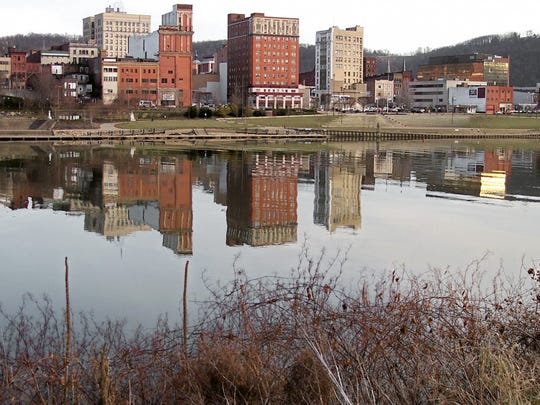 8. Wheeling, WV-OH     • 2010-2017 population change:  -4.5% (from 147,901 to 141,254)     • 2010-2017 pop. change due to migration:  -3,761     • Largest 12 month change:  -1,617 (July, 2016-July, 2017)     • Median household income:  $44,131