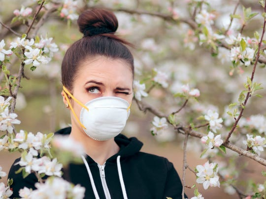 The trees will soon be blossoming, spring flowers will decorate parks, and green grass will make everything look more pleasant. But it's not all good news for those with allergies.