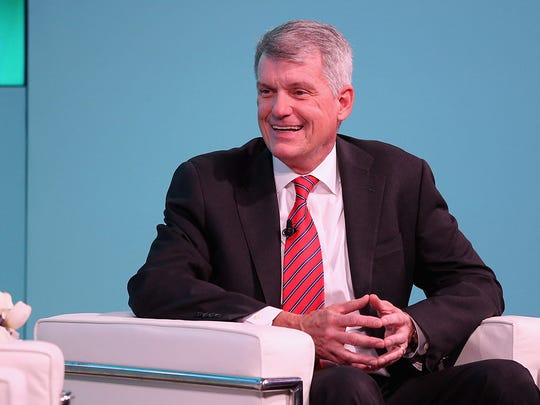 Wells Fargo is reportedly talking with former Goldman Sachs executive Harvey Schwartz about becoming the bank's new CEO. The bank's board chair denied the report and expressed full support for current CEO Tim Sloan.