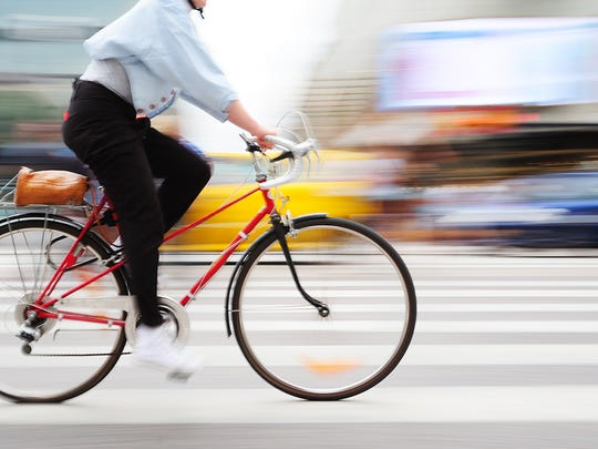 Save our resources, grab your bike and head to work without your car.