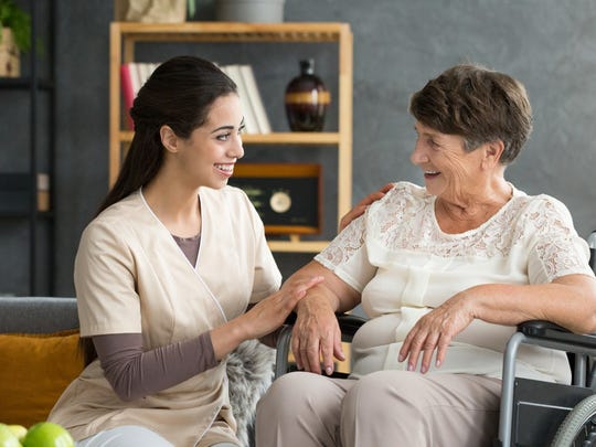 The median weekly wage for a personal care aide is $500, one of the lowest wages in the country.