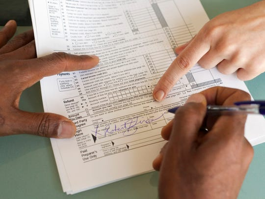 Take care in filling out your tax return: simple mistakes include forgetting to sign and date the return,  incorrect calculations and figures written on the wrong lines.