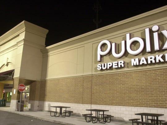 Publix Super Market store file photo.