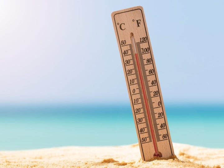 Americans hoping for a mild summer may be out of luck this year. Climate models are indicating that -- outside of the Plains region -- temperatures will be warmer than normal this summer as well. The summer of 2018 tied with 1934 as the fourth hottest summer on record for the contiguous United States.     Of course, temperatures vary widely across the country. The coldest temperature ever recorded was -80° Fahrenheit in Prospect Creek in central Alaska in 1971. At the other end of the spectrum, temperatures reached a staggering 134° Fahrenheit in Furnace Creek, Death Valley, California on July 10, 1913 -- one of  the hottest places on Earth .     Temperatures also vary within each state, with geographic and other factors affecting the weather. Cities filled with heat-trapping materials such as asphalt, metal, and concrete are often the warmest. Elevation may also come into play. Furnace Creek, for instance, sits at 190 feet below sea level.     Based on the most recent historical temperature data from the  National Oceanic and Atmospheric Administration (NOAA) , 24/7 Wall St. identified each state's hottest city.     While California's Death Valley is the nation's hottest region, areas in Arizona, Nevada, Texas, and Utah are not far behind. In these cities, the average maximum temperature surpasses 100° Fahrenheit during the  hottest month . Among the hottest cities in  the nation's coldest states  are Fairbanks, Alaska, and Sanford, Maine.